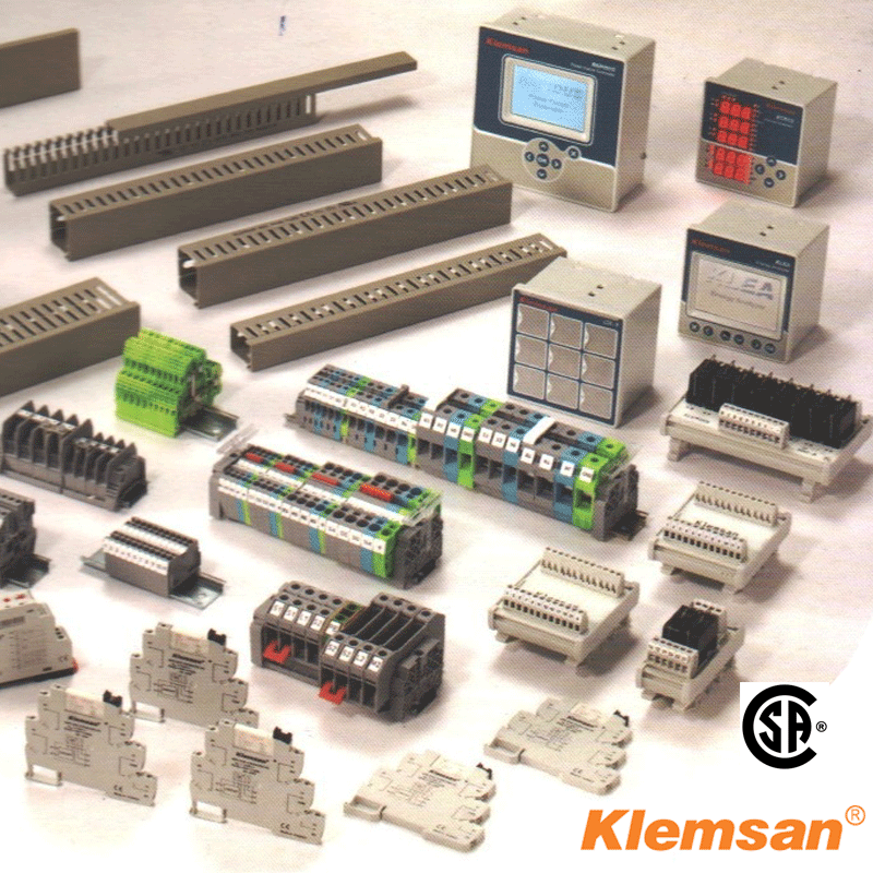 Southwest Energy Kelmsan DIN Rail Terminal Blocks and accessories