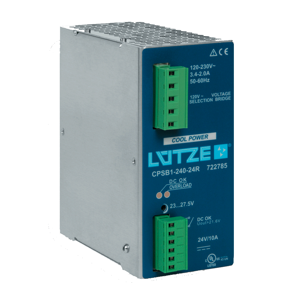 Southwest Energy Lutze DIN Rail Components T-50-255