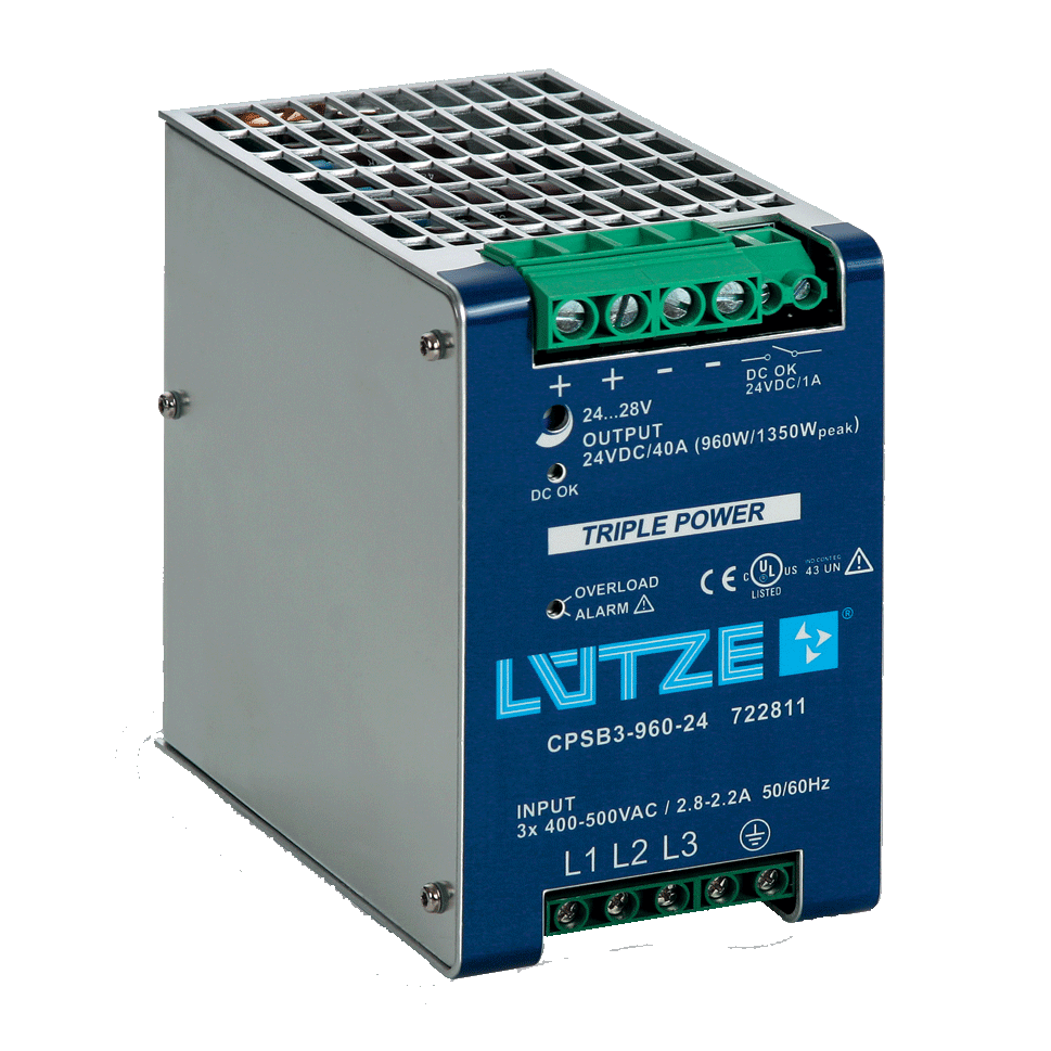 Southwest Energy Lutze DIN Rail Power Supplies and Electronic Component Solutions