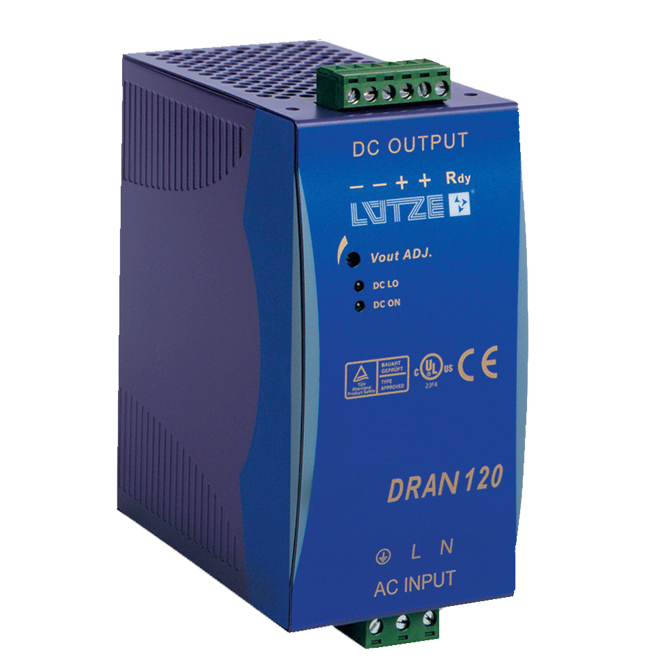 Lutze DIN Rail Components Power Supplies